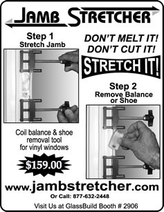 Jamb Stretcher Ad from Window and Door